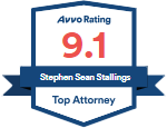 Avvo Rating 9.1, Stephen Sean Stallings - Top Attorney